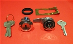 Mercedes 190SL Late type Trunk & Glove Box Lock Set - Keyed Alike