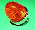 Late type Front Turn Signal Lamp with Amber lens fits 190SL and other models.