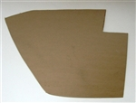 Mercedes 190SL Right Side Kick Panel (Footwell Panel) - Unfinished