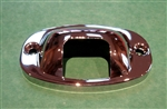 License Plate Lamp Cover Plate - Bumper Guard type - For 190SL, 300SL Roadster, 220SE