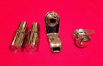 Matched set Door Lock Cylinders, Glove Box & Trunk Lock for Early 190SL with YMOS Key