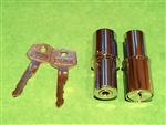 Mercedes 190SL - Matched Pair Early Door Lock Cylinders