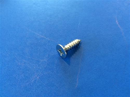 Chrome Plated Flat Head Sheet Metal Screw Din 7982 5 5x19