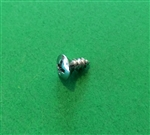 Chrome Plated Oval Head Screw -  DIN 7983 - 3,9x9,5