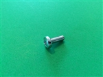 Chrome Plated Pan Head Screw -  DIN 7985 - M6x15