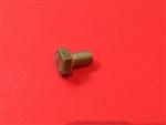 Hex Head Cap Screw M5x8  DIN 933 - Yellow Zinc Plated
