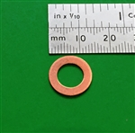 Copper Seal Ring  - 8x14x1mm   DIN 7603