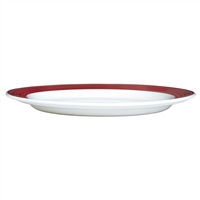 PLATE 9 IN SLIMLINE FREEDOM RED