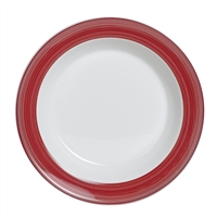 SOUP PLATE 8.5 IN X 1.25 IN (12.75 OZ) SLIMLINE FREEDOM RED