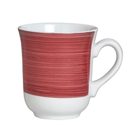 CLUB MUG 4.5 IN X 3.75 IN (10 OZ) FREEDOM RED