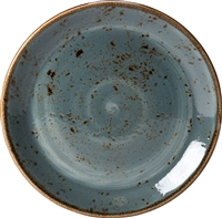 "CRAFT BLUE COUPE PLATE 9"" - EACH"