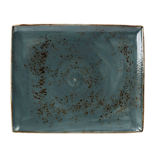 "BLUE CRAFT 13 1/2"" x 10 5/8"" RECTANGLE PLATTERS"