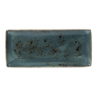 "CRAFT BLUE RECTANGLE TRAY L 14 1/2 W 6 1/2"" - EACH"