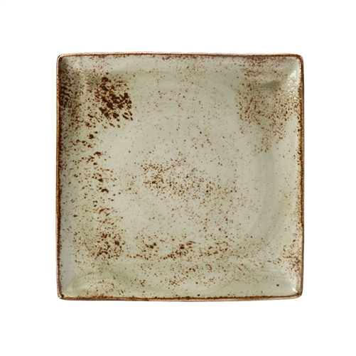GREEN  SQUARE TRAY 10 1/2 - EACH