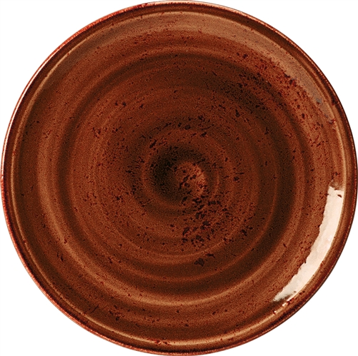 "CRAFT TERRACOTTA COUPE PLATE 11 3/4"" -SET OF 4"