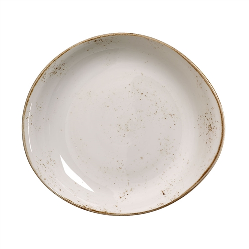 "CRAFT WHITE 11"" FREESTYLE SERVING BOWL - EACH"