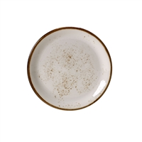 "Craft White 11"" coupe plate"