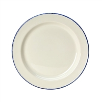 "10 5/8"" Blue Dapple Dinner Plate"