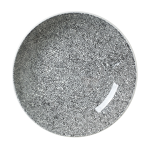 COUPE BOWL 10 IN  INK CRACKLE BLACK