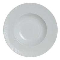 "RIMMED PASTA/SALAD BOWL MAIN 10 5/8"" (13 OZ)  SONATA"
