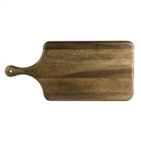 "ACACIA WOOD BREAD PADDLE 17"" x 8"""