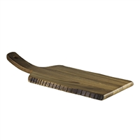"ACACIA SERVING BOARD 16"" x 6 1/2"" RUSTIC"