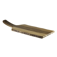 "ACACIA SERVING BOARD 20"" x 8"" RUSTIC"