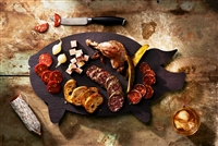 "11"" x 19"" PIG CHEESE/CHARCUTERIE SERVING PLATTER"