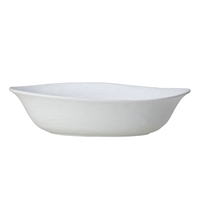 BOWL OVAL LARGE L 15 3/4 X H 4 (84 OZ) SCAPE WHITE