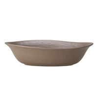 BOWL OVAL LARGE  L 15 3/4 SCAPE (84OZ) MUSH