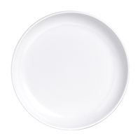 PLATE COUPE 6.5 IN WHITE RETRO 3RO-DD206-020