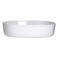 SERVING BOWL 10 X 2.25 WHITE RETRO 3RO-DD213-020