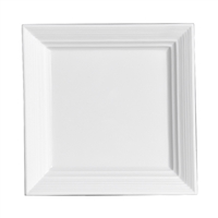 PLATE SQUARE 5.125 IN AURA WHITE 3AA-DD086-020