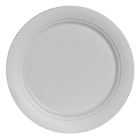 B&B PLATE 6 1/4 IN AURA WHITE