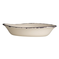PASTA BOWL 10IN DX 2IN H(39 OZ)MARISOL RUST SNDSHLL