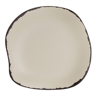 PLATE B & B 5 1/2 IN MARISOL RUSTIC SANDSHELL