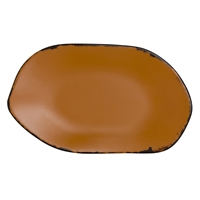 PLATTER OVAL 12 IN X 7 1/8 IN MARISOL RUSTIC CLAY