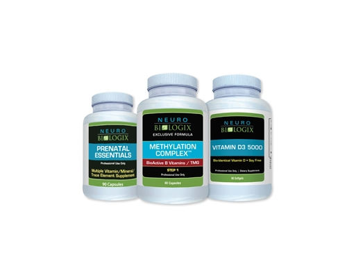 PRENATAL SUPPORT KIT (Prenatal Essentials, Methylation Complete, Vitamin D3 5000)