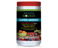 Super Greens Strawberry/Kiwi - ORAC levels equal to 20+ servings of fruits and vegetables!