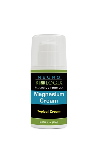 Magnesium Topical Cream 4oz (70 Pumps)