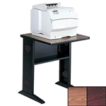 Reversible Top Fax/Printer Stand- Mahogany or Oak surface.