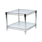 "24"" acrylic liner for wire shelving"