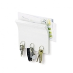 Umbra Magnetter mail and key Organizer in black, white, espresso and natural