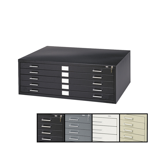 5Drawer Flat File Storage Cabinet for 24 x36 Sheets Safco – File Storage Cabinet