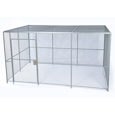 4 Wall Wire Mesh Partitions Security Cages Spaceguard