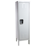 "Kids White Locker 15""w x 15""d x 54""h"