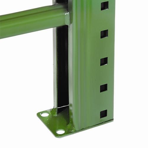 Teardrop Pallet Rack Frames amp Uprights Shelvingcom