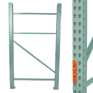 Pallet Racking Upright Teardrop Frames Shelvingcom