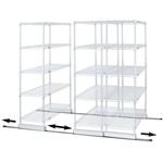 Single Track Kit for Wire Shelving