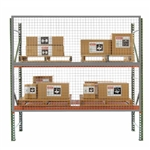 Wire Mesh Rack Guard for Pallet Racks